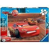 Ravensburger 10877 Disney Cars - Puzzle de Rayo McQueen (100 piezas)