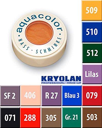 Esmalte para las uñas de Aquacolor, 30ml, color 079rojo