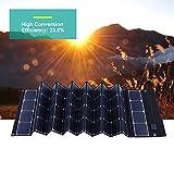 YAMEIJIA Le Plus récent Panneau Solaire Pliable Efficace 180W 18V pour Chargeur de téléphone/Tablette/Batterie d'appareils numériques...