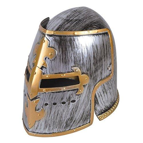 Bristol Novelty bh615Knight Helm, grau, one size