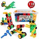 LBLA Blocchi Costruzioni per Bambini, 118 Pezzi, per bambini di età superiore a 3 anni