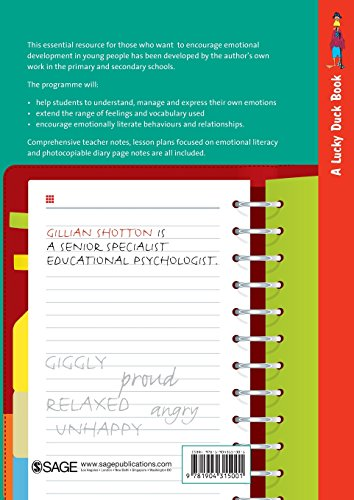 The Feelings Diary: Helping Pupils to Develop Their Emotional Literacy Skills by Becoming More Aware of Their Feelings on a Daily Basis - for Key Stages 2 and 3 (Lucky Duck Books)