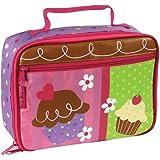 Jomoval Stephen Joseph Childrens Insulated Lunch Box, Cupcake
