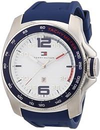 Tommy Hilfiger Herren-Armbanduhr Cool Sport XL Analog Silikon 1790855