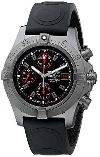 Breitling de hombre m133802C-bc73Avenger pantalla analógica Swiss–Reloj automático negro
