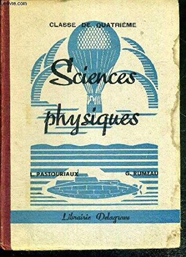 Sciences physiques. classe de cinquième - première année d'enseignement primaire supérieur