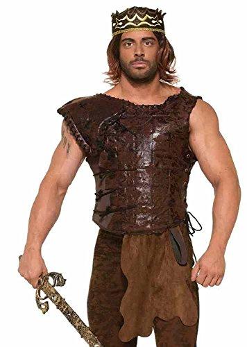 Kostüm Drogo (Braune Rüstung für Herren Gr.)