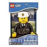 LEGO-City-9003844-Sveglia-retroilluminata-per-bambini-minifigure-pompiere