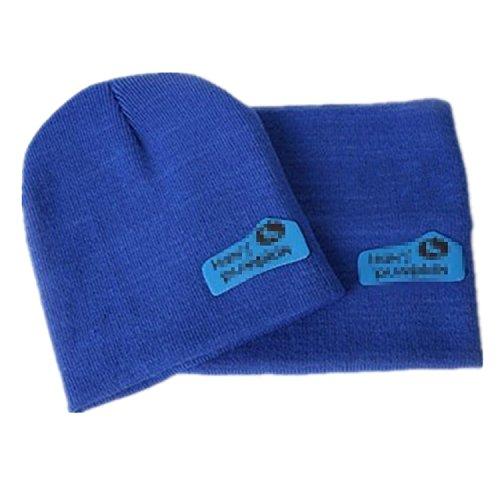 Viskey Fashion Cute Baby Kinder Mädchen Jungen dehnbar Warm Winter Knit Crochet Hat/Strickmütze mit Ohrenklappen/Beanie Hat/Schal (Owl-hut-schal)