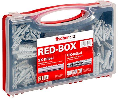 Fischer Dübelsortiment SX/UX in roter Box (Kunststoff-dübel)
