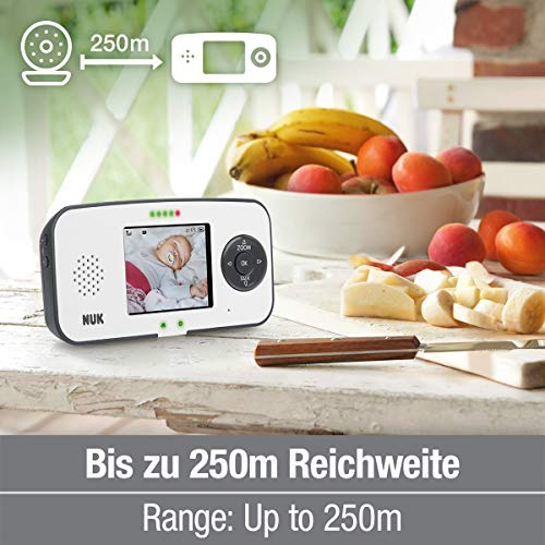 NUK Babyphone with camera Digital 10.256.441 550VD 2.4GHz