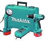 Makita 6271 DWPLE (2 x 1,3 Ah + Akku-Lampe)