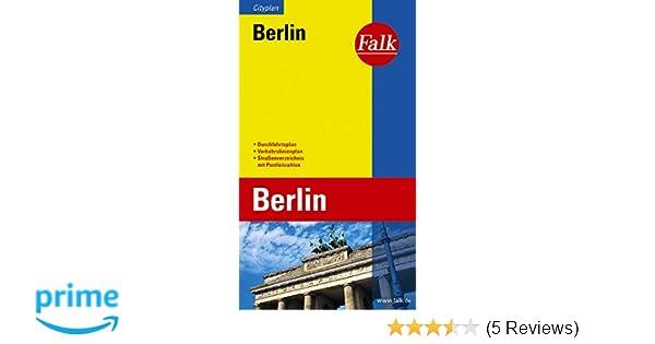 Falk Cityplan Berlin mit Potsdam Innenstadt