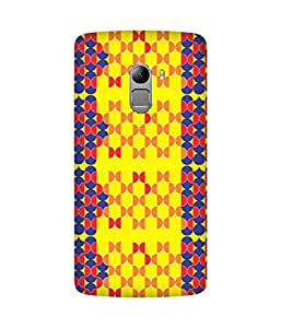 Stripes And Elephant Print-80 Lenovo K4 Note Case