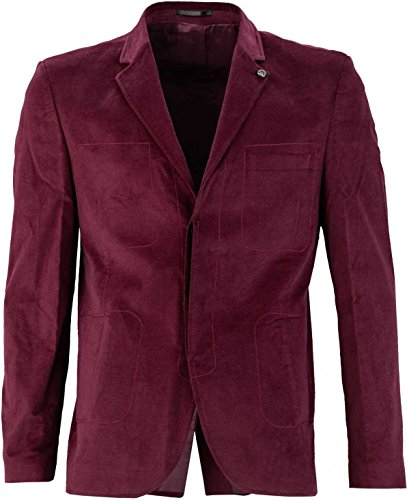 YAKE by S.O.H.O. NEW YORK Herren Sakko VANCOUVER Bordeaux_144