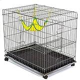 YAMEIJIA Katzen Tray Cages Häuser Pet Liners Solid Falten Durable Flexible Silber Für Haustiere