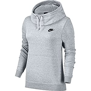 Nike W NSW FNL Fleece Damen Kapuzepullover