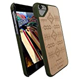 raidfox iPhone 6/6S Natürliche Holz Hard Case, umweltfreundlichen FSC Forest Handgemachte natürliches Holz Cover – Hybrid Heavy Duty woodback Displayschutzfolie Frontplatte, Nature Bond, Canvas Maple