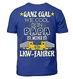 Mein Papa ist LKW-Fahrer· Geschenkidee für Kinder von Fahrern/innen · Lastwagen Motiv/Spruch Kinder T-Shirt