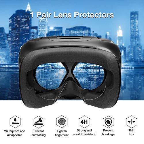 precauti 1 para VR Brille Objektivschutzfolie Objektivschutzfolie HD Clear Film Für Oculus Quest Oculus Rift S Oculus Go Virtual Reality Objektiv
