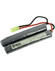 8Fields - Accessoire Airsoft - Batterie Double Baton 9.6 Volt - 1600 Mah