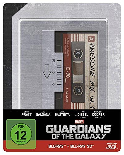 Bild von Guardians of the Galaxy(Steelbook) (+ Blu-ray 3D) [Blu-ray]