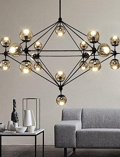 jiaily-illuminazione-dimmerabile-moderno-modo-lampadario-21-luci-montato-semi-flush-verniciatura-ner