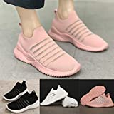 Lailailaily Womens Summer Hollowing Out Solid Round Toe Casual Sports Shoes