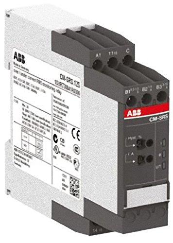 ABB-ENTRELEC CM-SRS 12S - RELE CONTROL CORRIENTE CM-SRS  12S 1 CON C TORNILLO