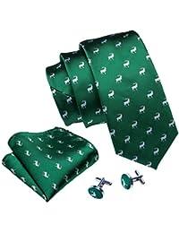 Wang - Juego de corbatas de seda para hombre e00153a3b8e