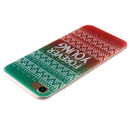 Meet de Sea ancre pour Apple iphone 7 Plus Soft TPU, Apple iphone 7 Plus Protection Etui Souple Flexible Coque TPU Silicone Soft Case, (Riche et coloré Designs) Housse / Case pour Apple iphone 7 Plus, tribal ethnique