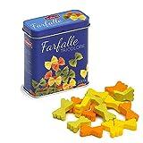 Erzi 7.1x 3.1x 8.1cm farfalle in legno drogheria di pasta in una latta Playset