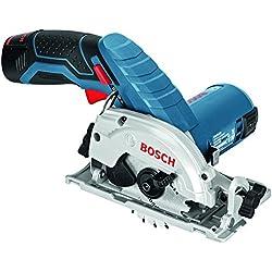 Bosch Professional Scie Circulaire Sans fil GKS 10,8 V-LI (12V, Ø de la lame de scie : 85 mm, L-BOXX)