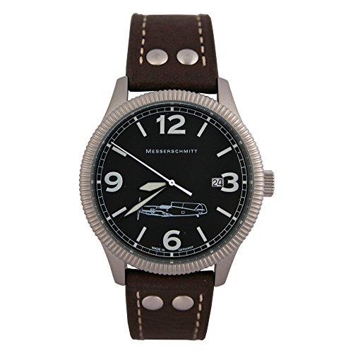 Messerschmitt Herren Flieger Armbanduhr 109-41B