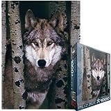 Eurographics Gray Wolf 1000pcs 1000pieza(s) - Rompecabezas (Jigsaw puzzle, Animales, Niños y...