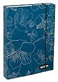 Undercover UNBG0940 - Heftbox Bluebelle A4, 32 x 24 x 4 cm