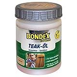 Bondex 0,5 Liter Teak Holz EXPRESS Öl farblos- transparentes Pflegeöl für Harthölzer, Innen und Außen - sprühbar, streichbar mit UV-Schutz