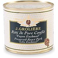 Foie Gras Groliere - Rôti De Porc Confit Façon Enchaud Du Périgord - Conserve