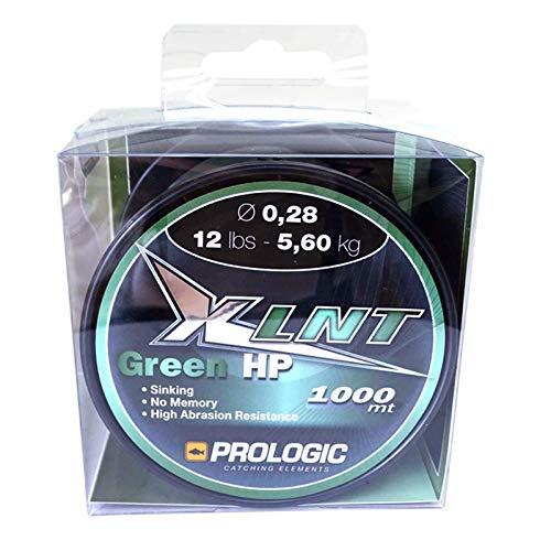 Prologic XLNT HP Moss Green 1000m grün - Karpfenschnur zum Karpfenangeln, Angelschnur zum Angeln auf Karpfen, Monofile Schnur, Durchmesser/Tragkraft:0.35mm/18lbs/8.1kg Tragkraft