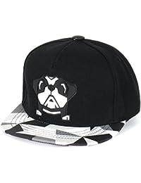 ililily niedlich Bulldog New Era Stil Snapback Kleinkind Baby Kinder Hut Baseball Cap