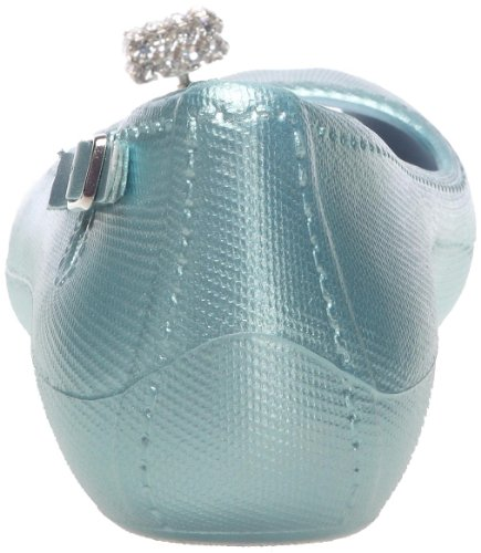 Raton Fanny Metallic 1, Ballerine Donna Blu (Bleu (Light Blu))