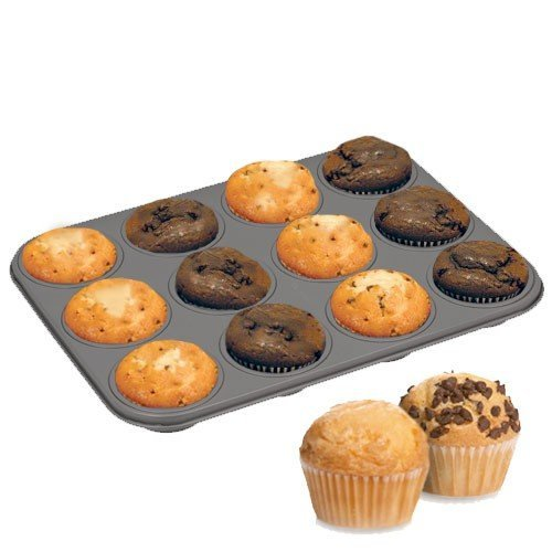 Muffin Backblech mit 60 Formen von La Cucina Bakeware Collection