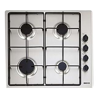 Beko HIZG64101SX-Plaque de cuisson, 4feux, inox, 60cm
