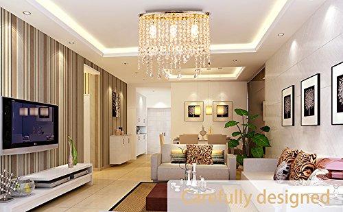 Plafoniere Da Camera : Plafoniera led soffitto lampadario camera letto cristallo