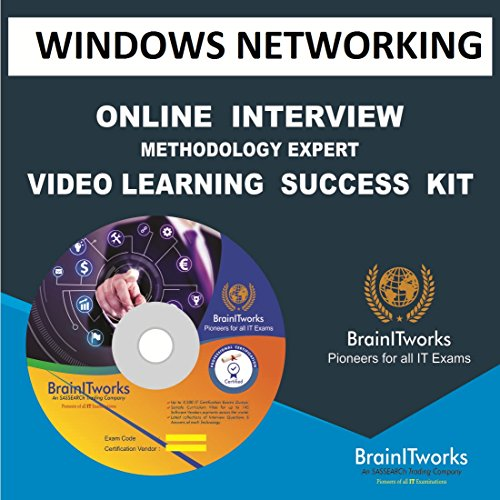 WINDOWS NETWORKING Online Interview video learning SUCCESS KIT -