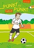 Von Punkt zu Punkt Fußball: Malen nach Zahlen von 1 bis 150