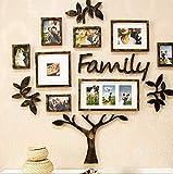 WWBB Wohnzimmer Sofa Hintergrundwand,Fotowand,Foto-Rahmen-Wand,Moderne Einfache Fotowand,Ungültige anforderung Kreativ Kombination Wand-Dekoration-A