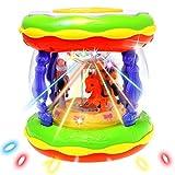 Vivir Flashing Musical Drum Set for Kids