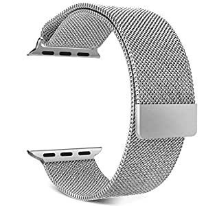 MoKo Noble 3955817 Milanese Loop Replacement Strap for 42mm Apple Watch (Milanese)