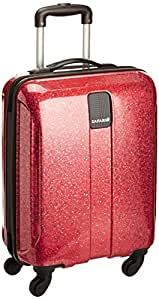 Safari Thorium Polycarbonate 55 cms Red Hard sided Carry-On (Thorium-Flame-Red-55-4WH)
